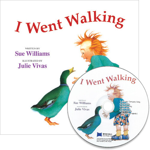 노부영 세이펜 I Went Walking (PB+CD)