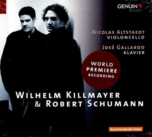 [수입] 킬마이어 & 슈만 : 첼로 작품집