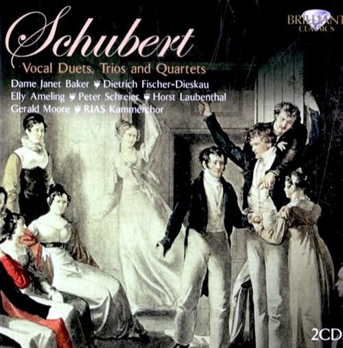[수입] 슈베르트 : 가곡집 - 듀엣과 중창 [2CD]