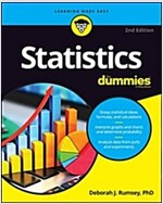 Statistics for Dummies (Paperback, 2)