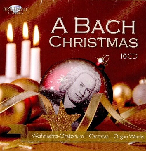 [수입] 바흐 : 크리스마스를 위한 작품 모음집 [10CD]