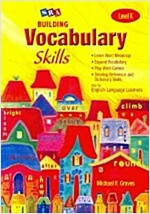 Building Vocabulary Skill Level K : Student Book