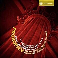 [수입] 프로코피예프 : 교향곡 4번, 6번 ,7번 & 피아노 협주곡 4번, 5번 [2SACD Hybrid]