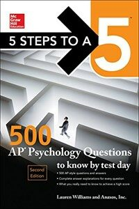 5 Steps to a 5: 500 AP Psychology Questions to Know by Test Day, Second Edition (Paperback, 2)