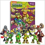Teenage Mutant Ninja Turtles Half-Shell Heroes My Busy Book (미니피규어 12개 포함) (Board book)