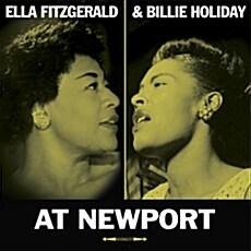 [수입] Ella Fitzgerald & Billie Holiday - At Newport [180g LP]