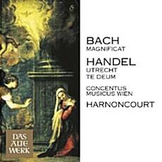 [수입] 바흐 : 마니피카트 BWV.243 & 헨델 : 위트레흐트 테데움
