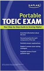 Kaplan Portable TOEIC Exam (Paperback)