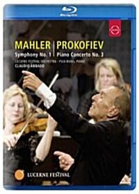 [수입] [블루레이] 말러 & 프로코피예프 : 교향곡 1번 & 피아노 협주곡 제3번