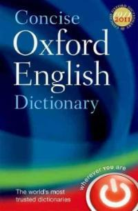 Concise Oxford English Dictionary : Main edition (Hardcover, 12 Revised edition)