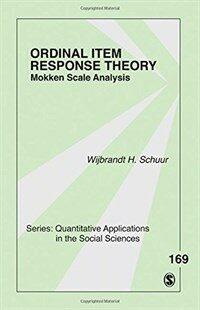 Ordinal item response theory : Mokken scale analysis