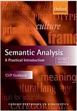 Semantic Analysis : A Practical Introduction (Paperback, 2 Revised edition)