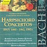 [수입] 바흐 : 하프시코드 협주곡 BWV 1060-1062 & 1061a