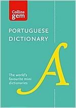 Portuguese Gem Dictionary : The World's Favourite Mini Dictionaries (Paperback)