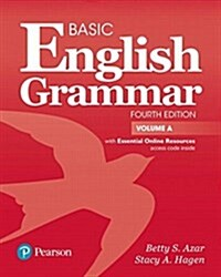 Basic English Grammar Student Book a with Online Resources (Paperback, 4)