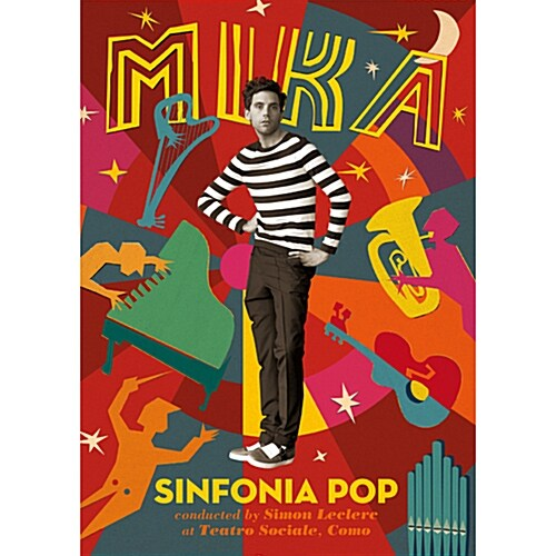 Mika - Sinfonia Pop [2CD+DVD 디지팩]