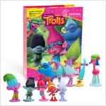 My Busy Book : DreamWorks Trolls 드림웍스 노래하는 요정 트롤 비지북 (미니피규어 10개 + 놀이판)