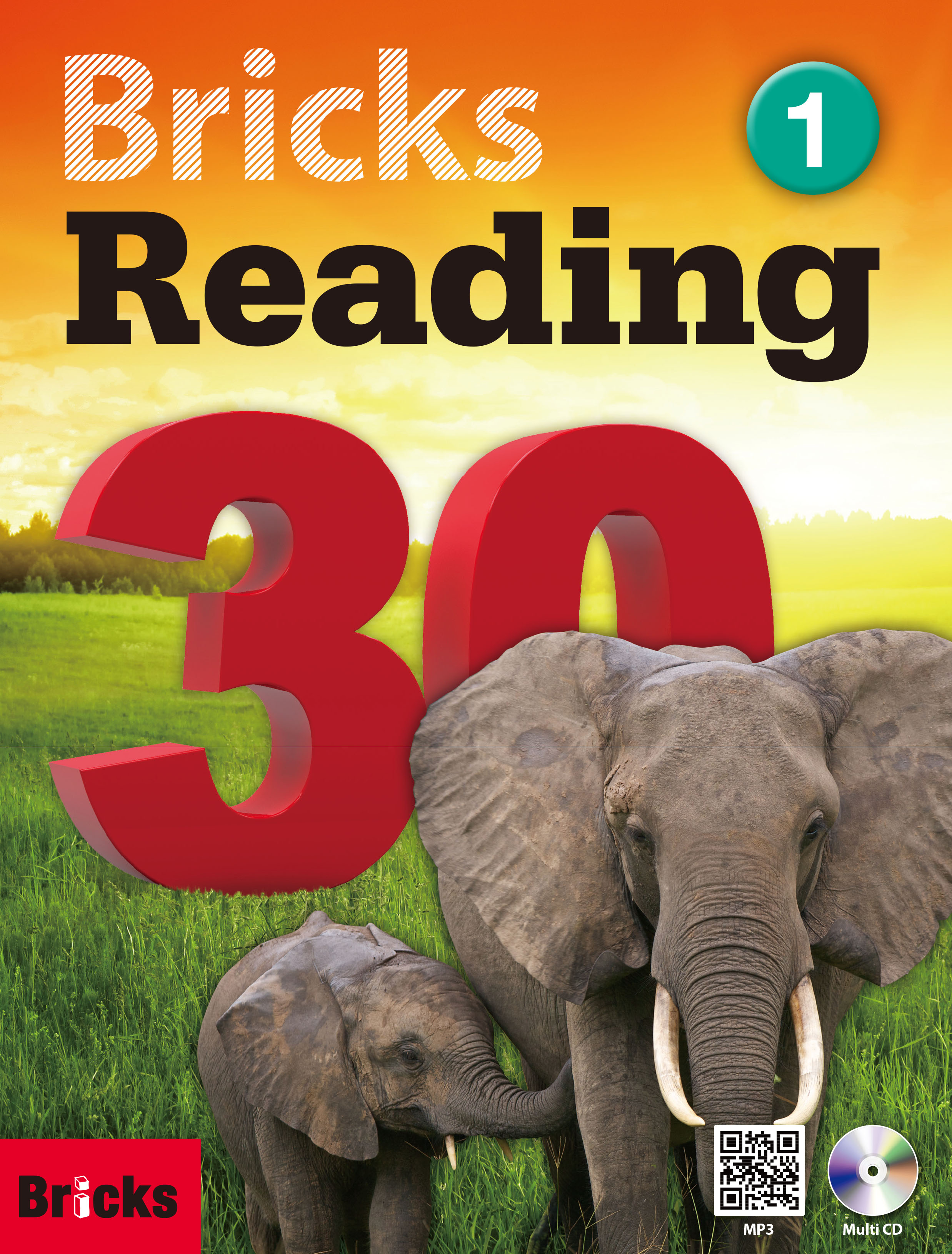 Bricks Reading 30 (1) (Student Book + Workbook + CD + QR)