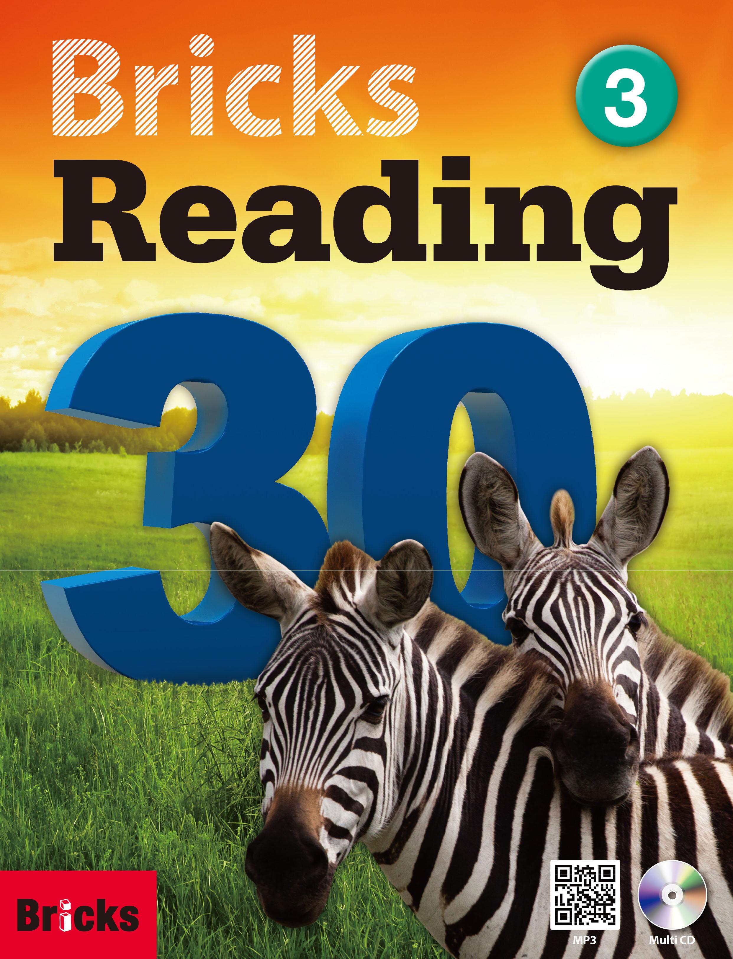 Bricks Reading 30 (3) (Student Book + Workbook + CD + QR)