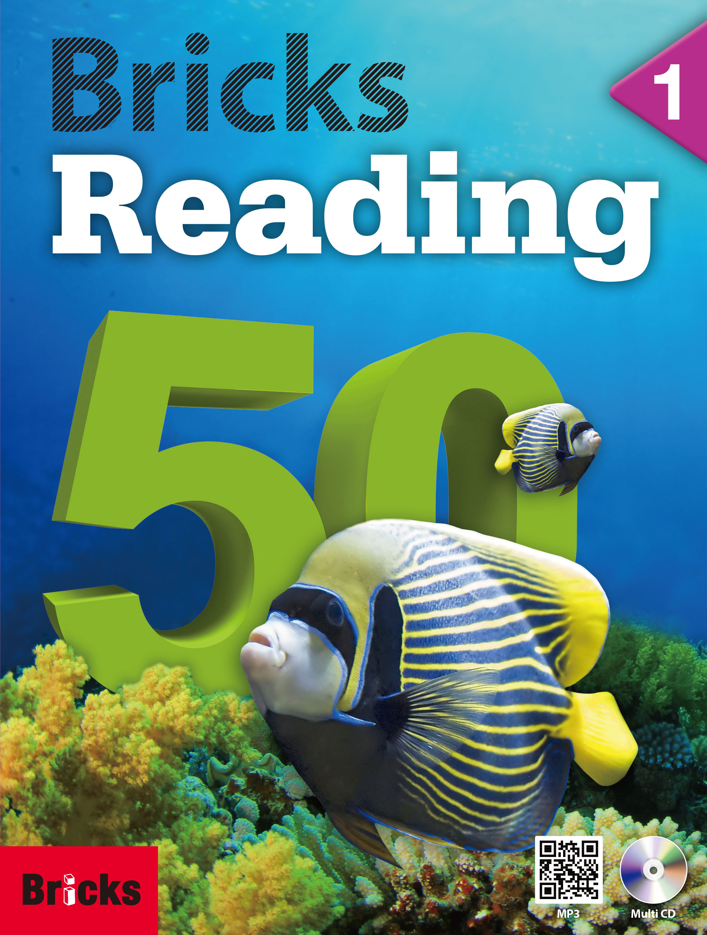 Bricks Reading 50 Level 1 (Student Book(+ Workbook + Multimedia CD))