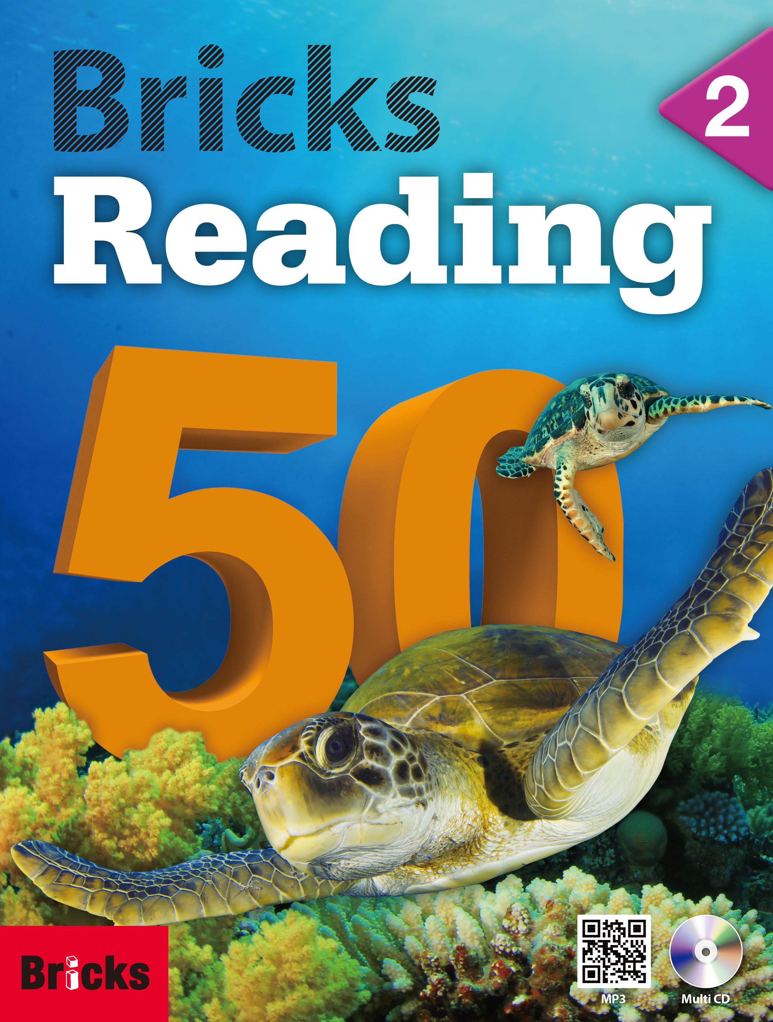 Bricks Reading 50 (2) (Student Book + Workbook + CD + QR)