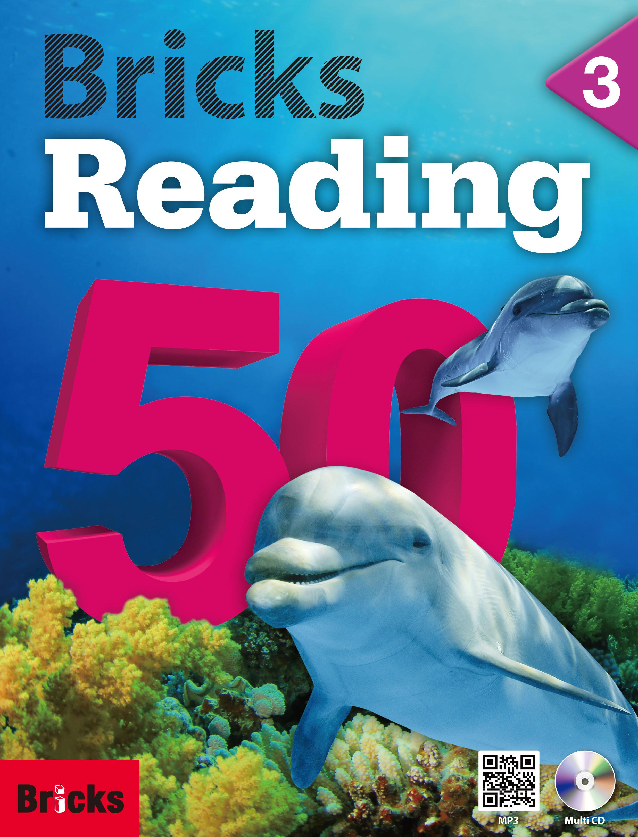 Bricks Reading 50 (3) (Student Book + Workbook + CD + QR)