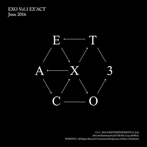 엑소 - 정규 3집 EXACT [Chinese Ver.] (Lucky One or Monster 중 랜덤 발송)