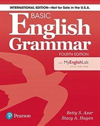 Basic English Grammar 4e Student Book with Mylab English, International Edition (Paperback, 4)