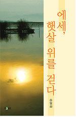 에세, 햇살 위를 걷다 : 송명화 에세이