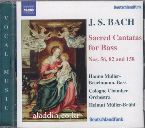 [수입] 바흐 : 베이스를 위한 칸타타들 - BWV 56, 82 & 158 (DDD/ Canada)