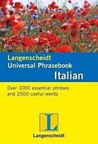 Langenscheidt Universal-Phrasebook Italian (Novelty)