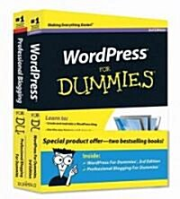 WordPress for Dummies 3rd Ed + Professional Blogging for Dummies (Paperback, PCK)