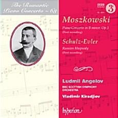 [수입] 낭만주의 피아노 협주곡 Vol. 68 - 모슈코프스키 : 피아노 협주곡 Op. 3 & 슐츠-에블러 : 러시안 랩소디 Op. 14