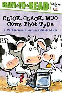 Click, Clack, Moo/Ready-To-Read: Cows That Type (Paperback)
