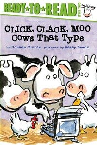 Click, Clack, Moo/Ready-To-Read Level 2: Cows That Type (Paperback)