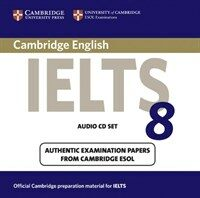 Cambridge IELTS 8 Audio CDs (2) : Official Examination Papers from University of Cambridge ESOL Examinations (CD-Audio)