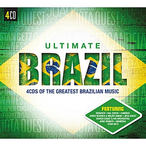 [수입] Ultimate Brazil [4CD]