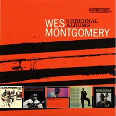 [수입] Wes Montgomery - 5 Original Albums [5CD]