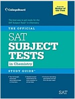 The Official SAT Subject Test in Chemistry Study Guide (Paperback)