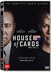 하우스 오브 카드 : 시즌4 (4disc)