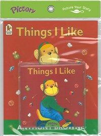 Pictory Set PS-37 Things I Like (Book, Audio CD)