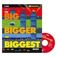 Pictory Set IT-07 / The Big Bigger Biggest Book (Paperback+Audio CD)
