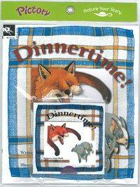 Pictory Set 1-07 / Dinnertime! (Paperback + Audio CD)