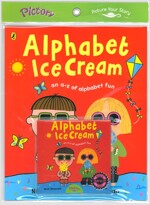 Pictory Set Pre-Step 43 : Alphabet Ice Cream (Paperback + Hybrid CD)