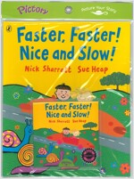 Pictory Set PS-29 / Faster, Faster! Nice and Slow (Paperback + Hybrid CD)