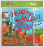 Pictory Set IT-09 / Hurry! Hurry! (Paperback + Audio CD)