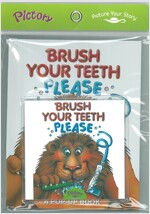 Pictory Set Infant & Toddler 02 : Brush Your Teeth Please (Boardbook + Audio CD)