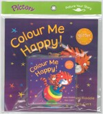 Pictory Set PS-20 / Colour Me Happy (Paperback + Audio CD)