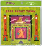 Pictory Set Pre-Step 14 : Bear About Town (Paperback + Audio CD)