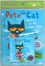 Pictory Set PS-53(HCD) Pete the Cat: Rocking In My School Shoes (Book, Hybrid CD)